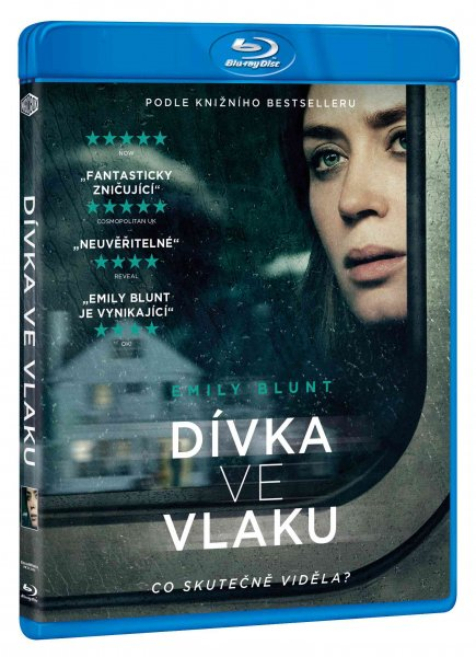 detail Dívka ve vlaku - Blu-ray