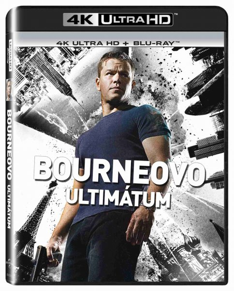 detail Bourneovo ultimátum (4K Ultra HD) - UHD Blu-ray + Blu-ray (2 BD)