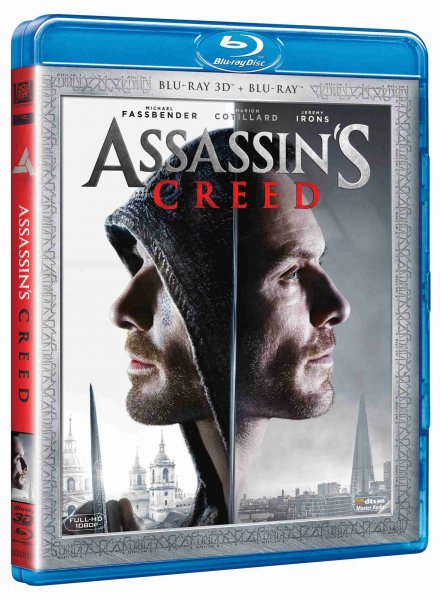 detail ASSASSINS CREED - Blu-ray 3D + 2D (2 BD)