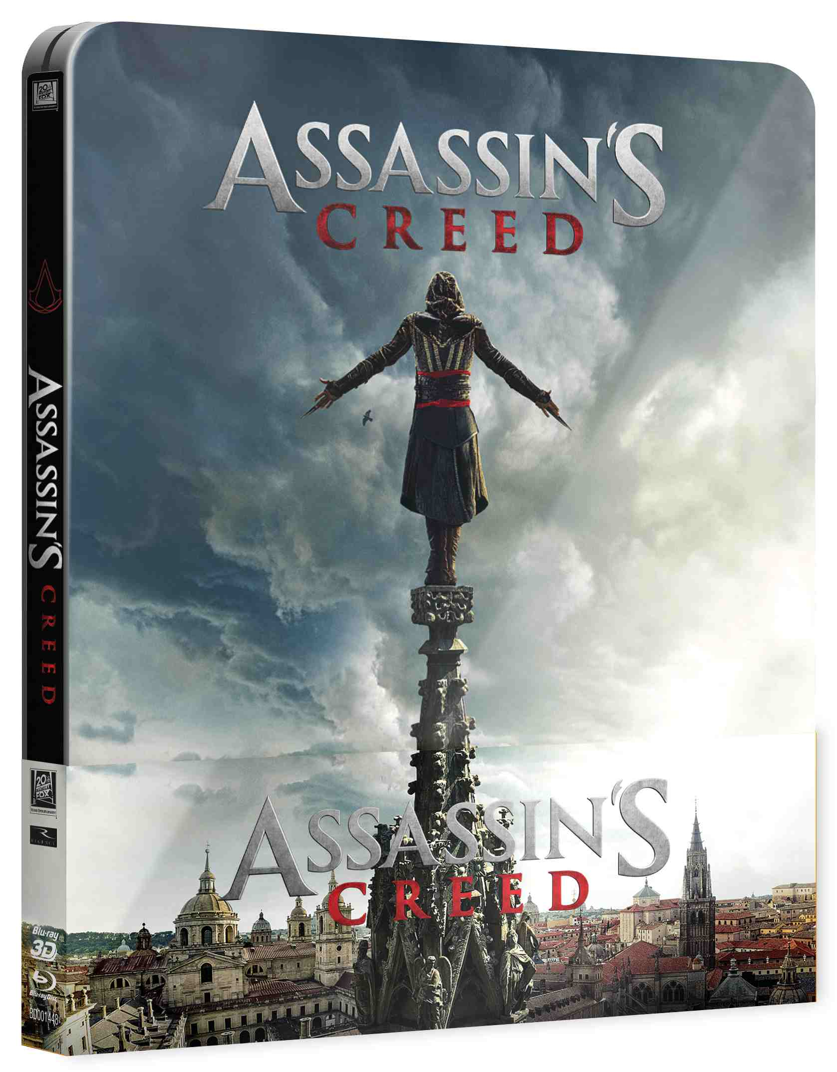 ASSASSINS CREED - Blu-ray STEELBOOK 3D + 2D (2 BD)
