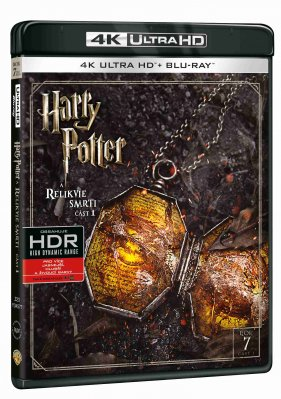 Harry Potter a Relikvie smrti 1 (4K Ultra HD) - UHD Blu-ray + Blu-ray (2 BD)