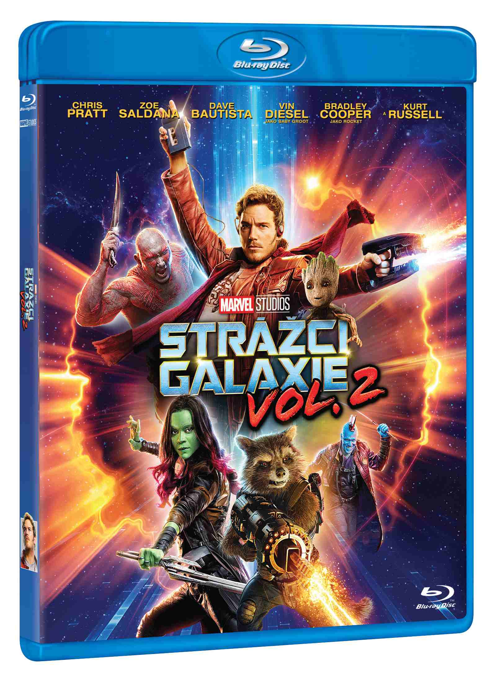 STRÁŽCI GALAXIE VOL. 2 - Blu-ray