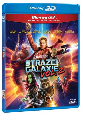 Strážci Galaxie vol. 2 - Blu-ray 3D + 2D