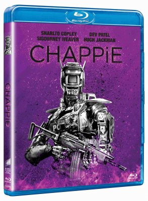 Chappie (Big face) - Blu-ray