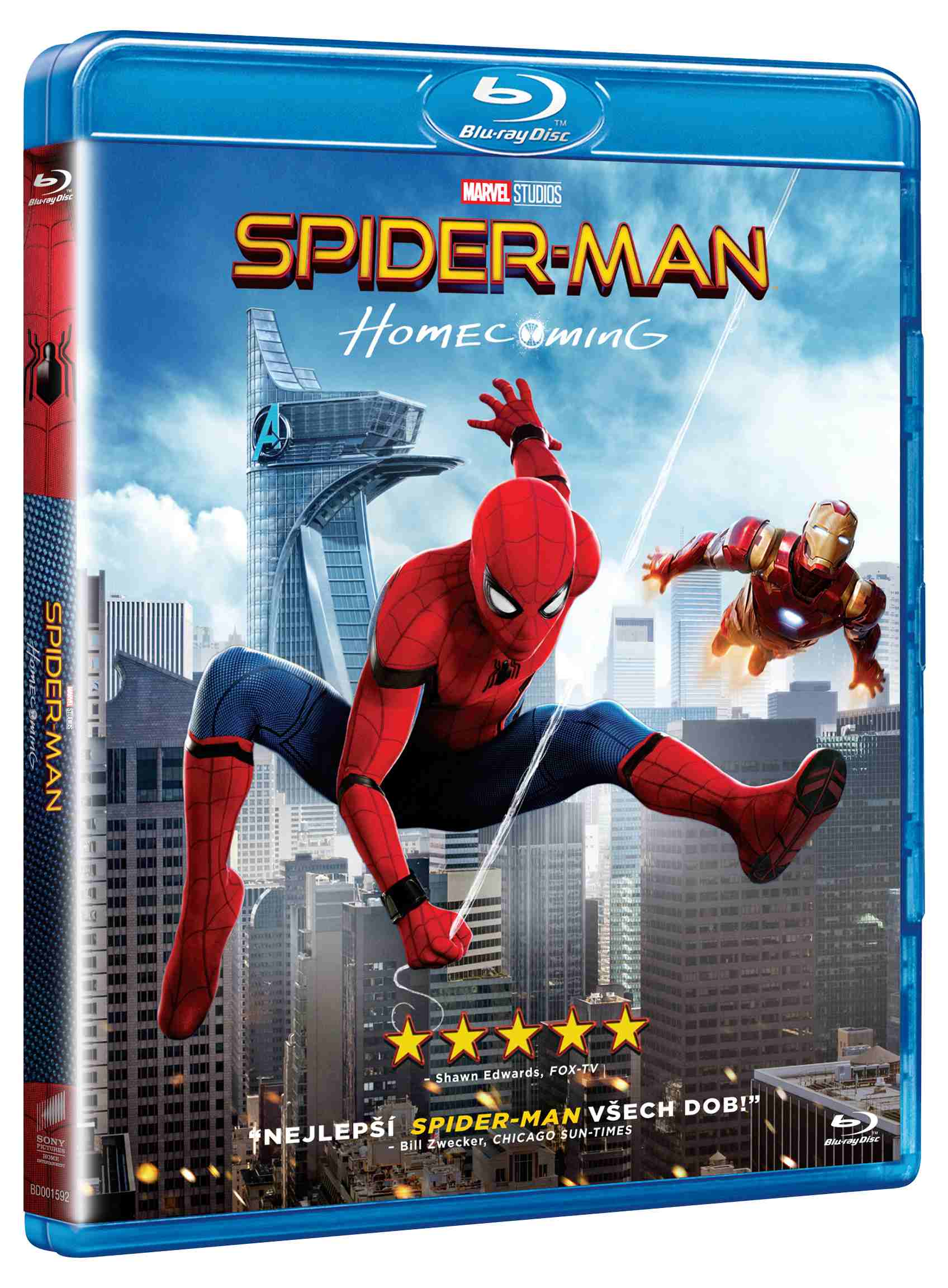SPIDER-MAN: HOMECOMING - Blu-ray + komiks