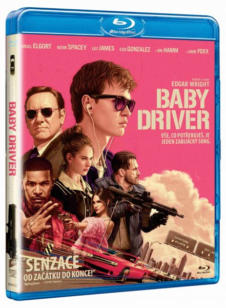detail BABY DRIVER - Blu-ray