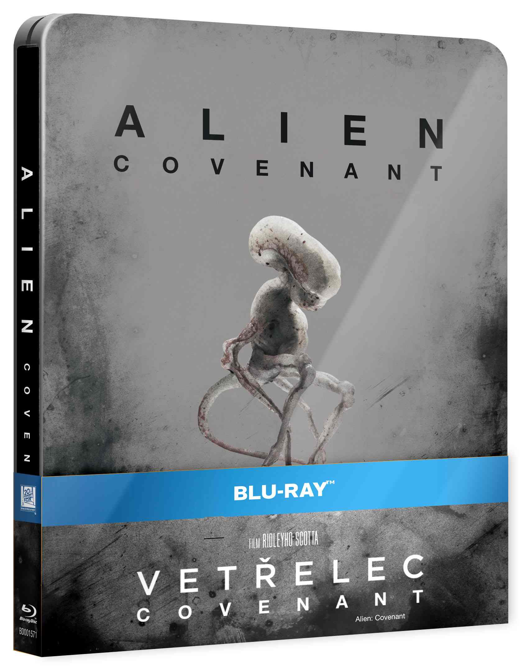 VETŘELEC: COVENANT - Blu-ray STEELBOOK