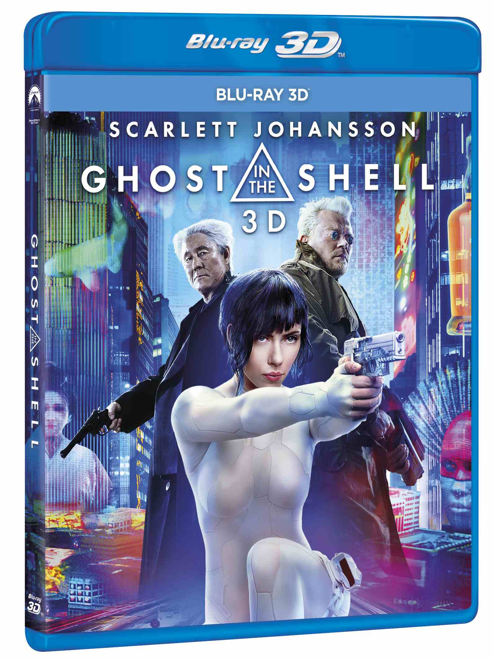 GHOST IN THE SHELL - Blu-ray 3D