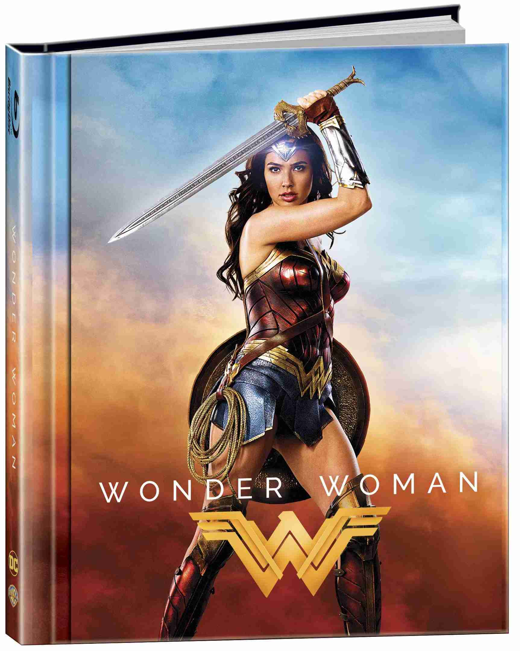 WONDER WOMAN - Blu-ray 3D + 2D DIGIBOOK (2 BD)