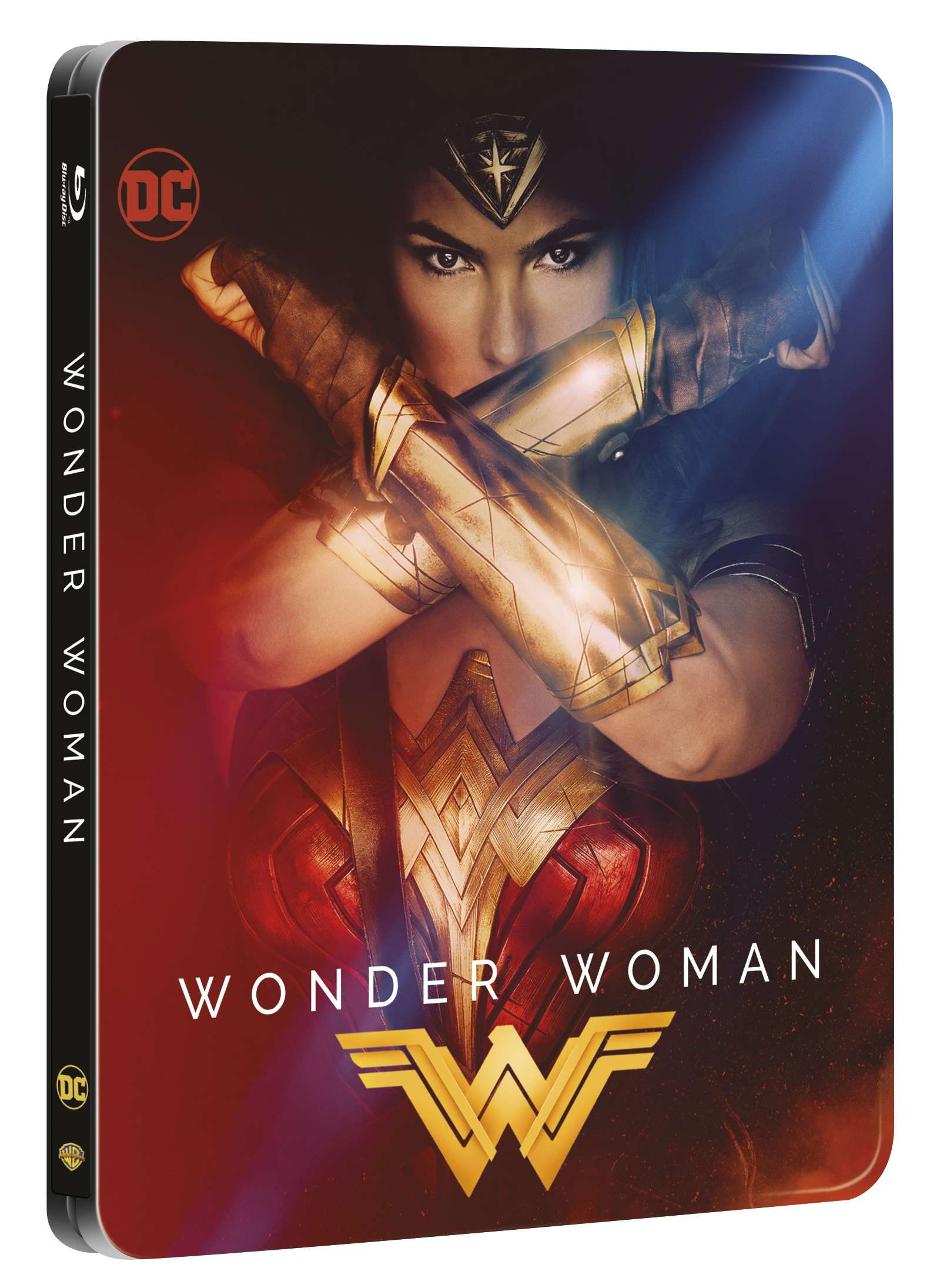 WONDER WOMAN - Blu-ray 3D + 2D STEELBOOK (2 BD)