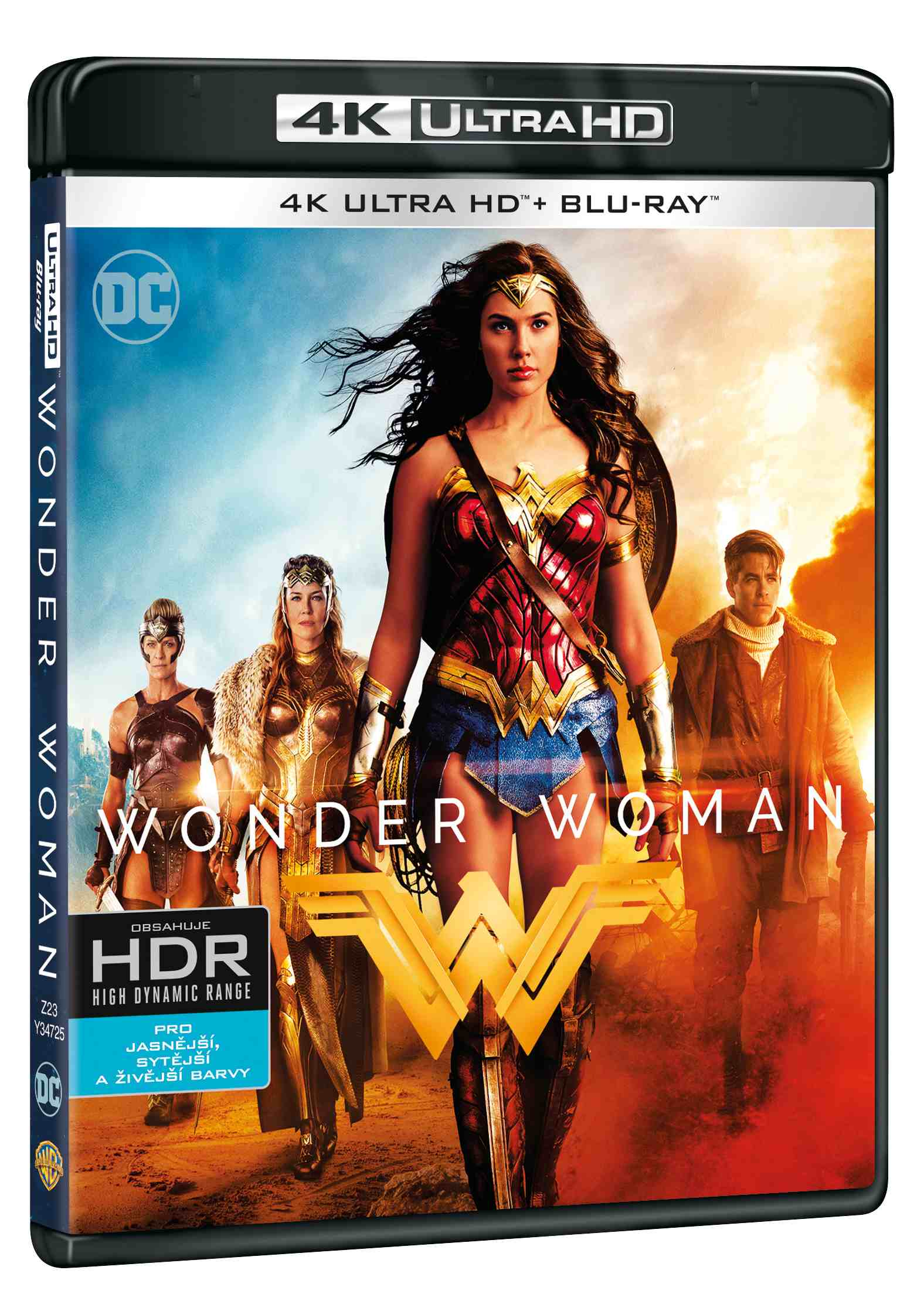 WONDER WOMAN (4K ULTRA HD) - UHD Blu-ray + Blu-ray (2 BD)