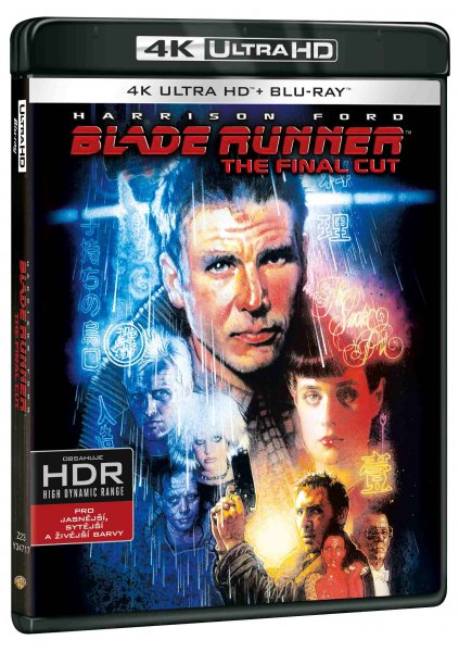 detail Blade Runner: The Final Cut - UHD Blu-ray + Blu-ray (2 BD) + 2 DVD
