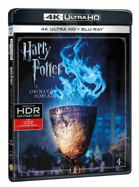 detail HARRY POTTER A OHNIVÝ POHÁR (4K ULTRA HD) - UHD Blu-ray + Blu-ray (2 BD)
