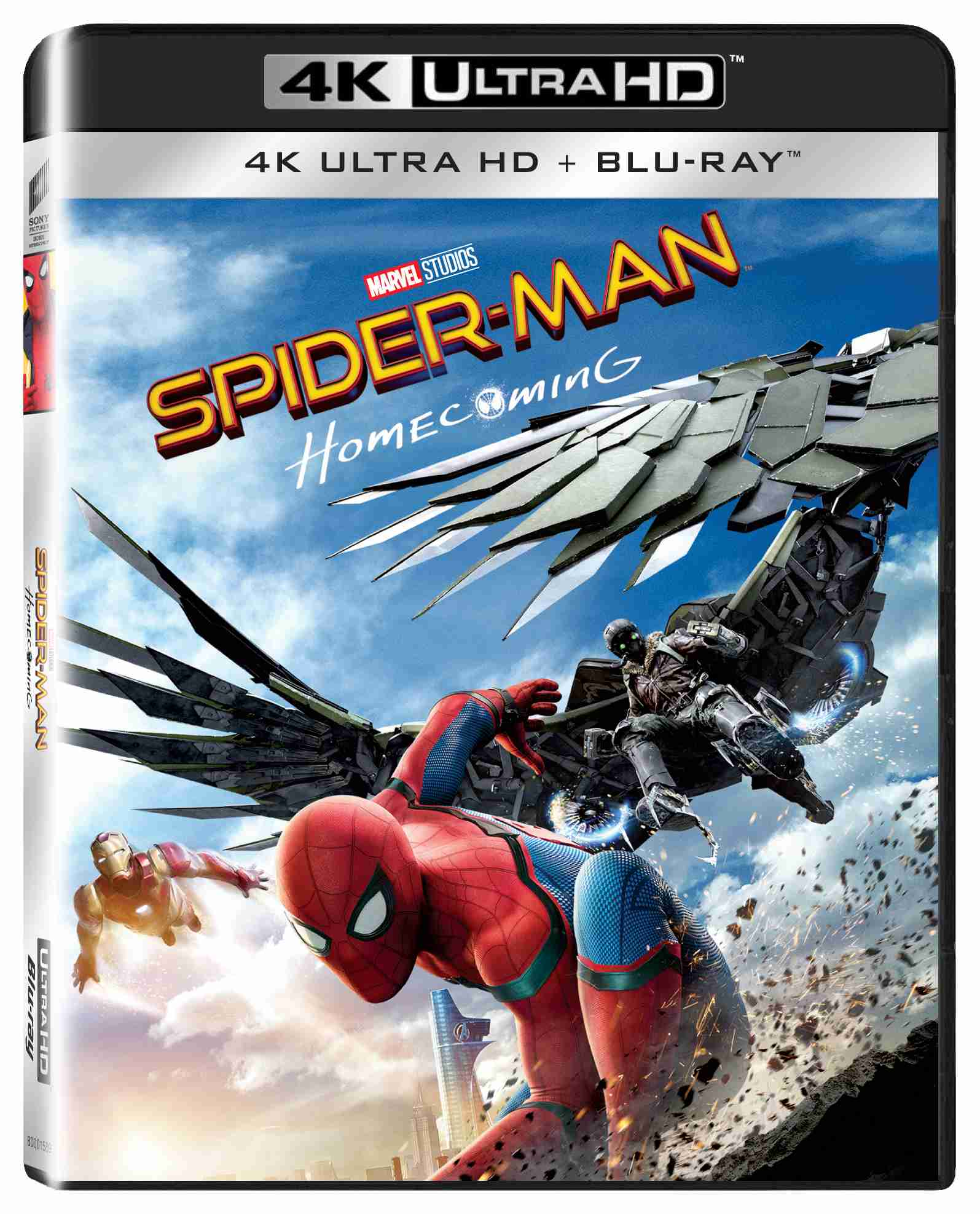 SPIDER-MAN: HOMECOMING (4K ULTRA HD) - UHD Blu-ray + Blu-ray (2 BD)