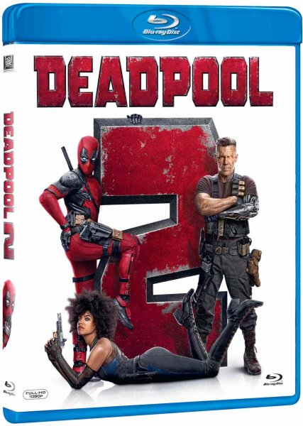 detail Deadpool 2 - Blu-ray