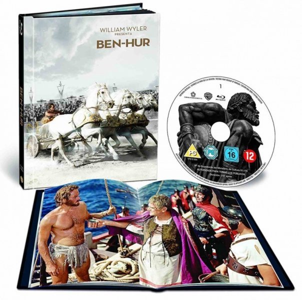 detail Ben Hur - Blu-ray Digibook