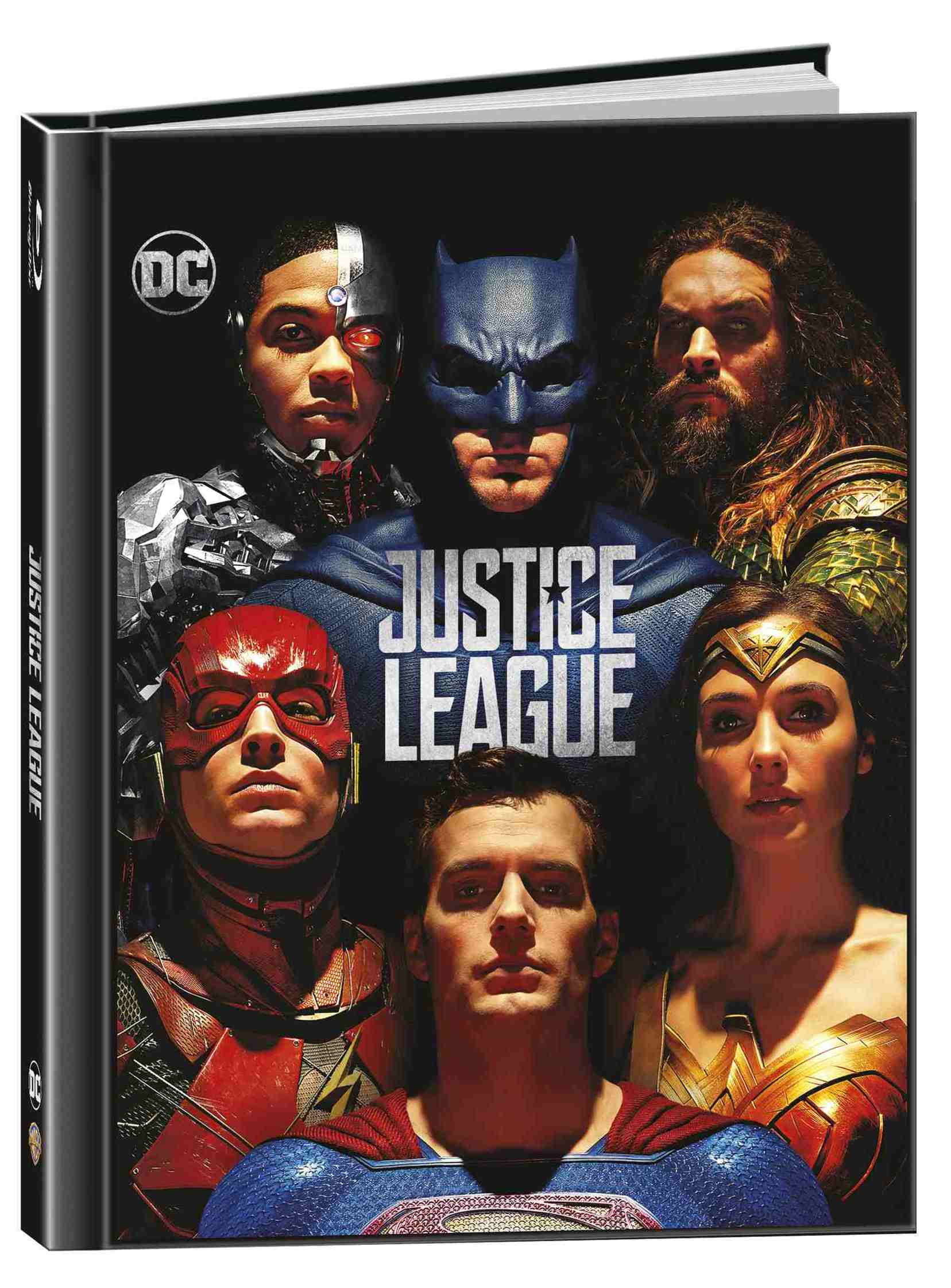 Liga spravedlnosti (Justice League) - Blu-ray 3D + 2D Digibook (2 BD)