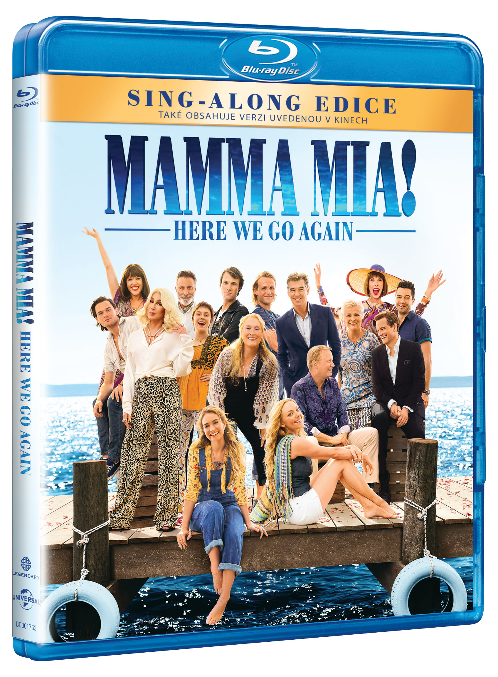 Mamma Mia: Here We Go Again! - Blu-ray