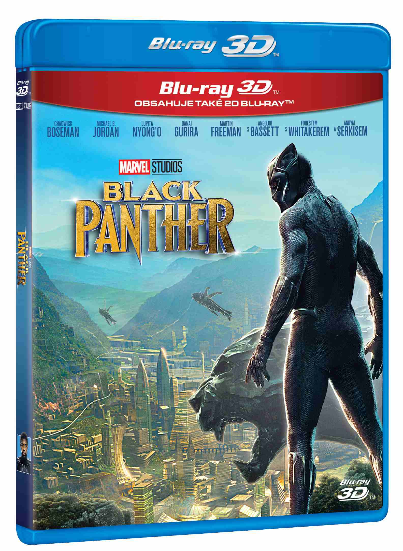 Black Panther - Blu-ray 3D + 2D