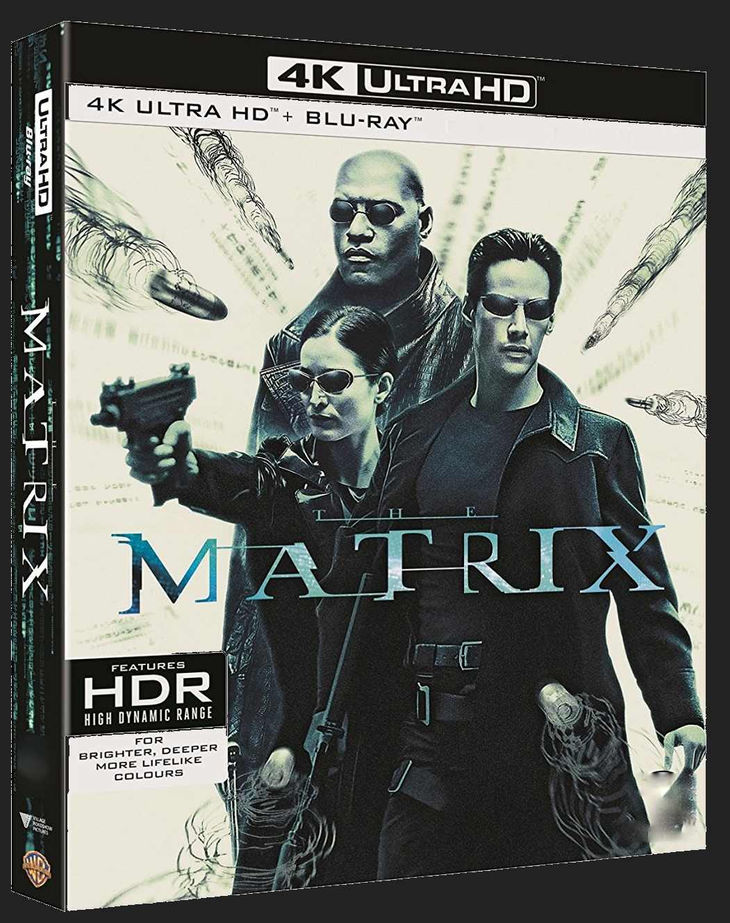 Matrix (4K ULTRA HD) - UHD Blu-ray + Blu-ray + Bonus disc (3 BD)