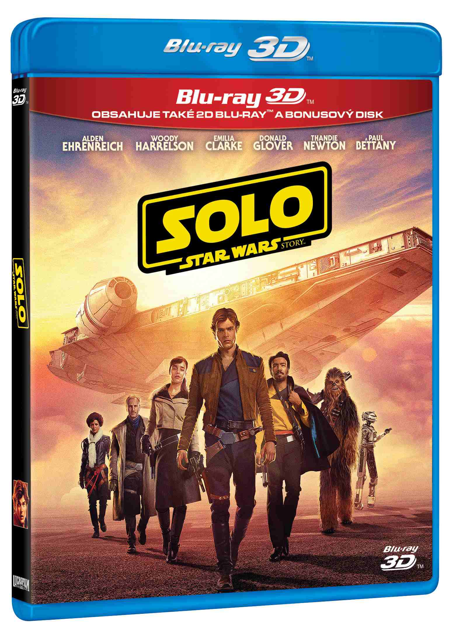 Solo: Star Wars Story - Blu-ray 3D + 2D + Bonus Disc