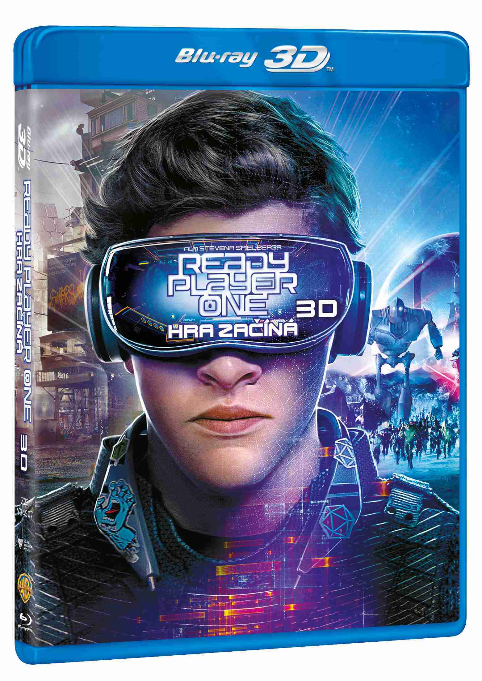 Ready Player One: Hra začíná - Blu-ray 3D + 2D