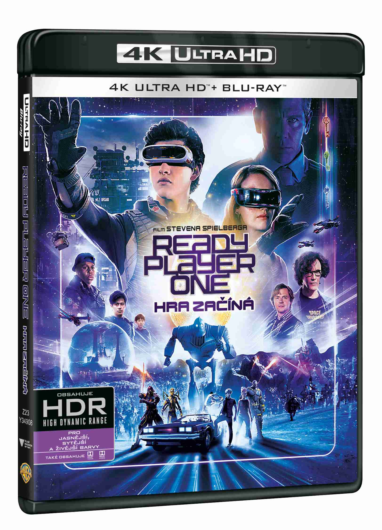 Ready Player One: Hra začíná (4K ULTRA HD) - UHD Blu-ray + Blu-ray (2 BD)
