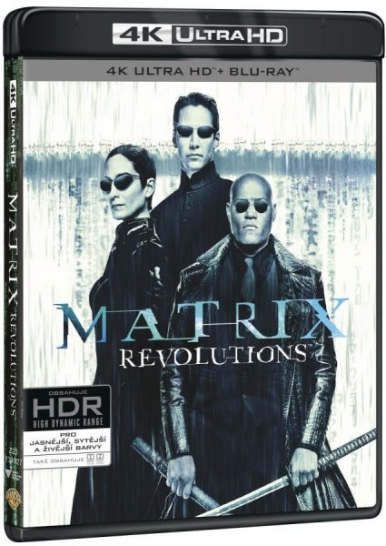 detail Matrix Revolutions (4K ULTRA HD) - UHD Blu-ray + Blu-ray + Bonus disc (3 BD)