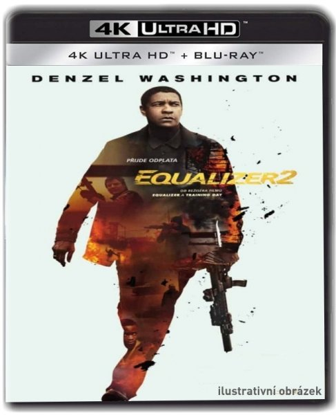 detail Equalizer 2 (4K ULTRA HD) - UHD Blu-ray + Blu-ray (2 BD)