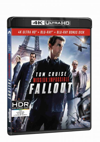 detail Mission: Impossible - Fallout (4K ULTRA HD) - UHD Blu-ray + Blu-ray + Bonus disk