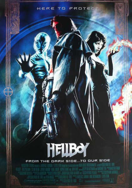 detail Hellboy (4K Ultra HD) - UHD Blu-ray + Blu-ray (2 BD)