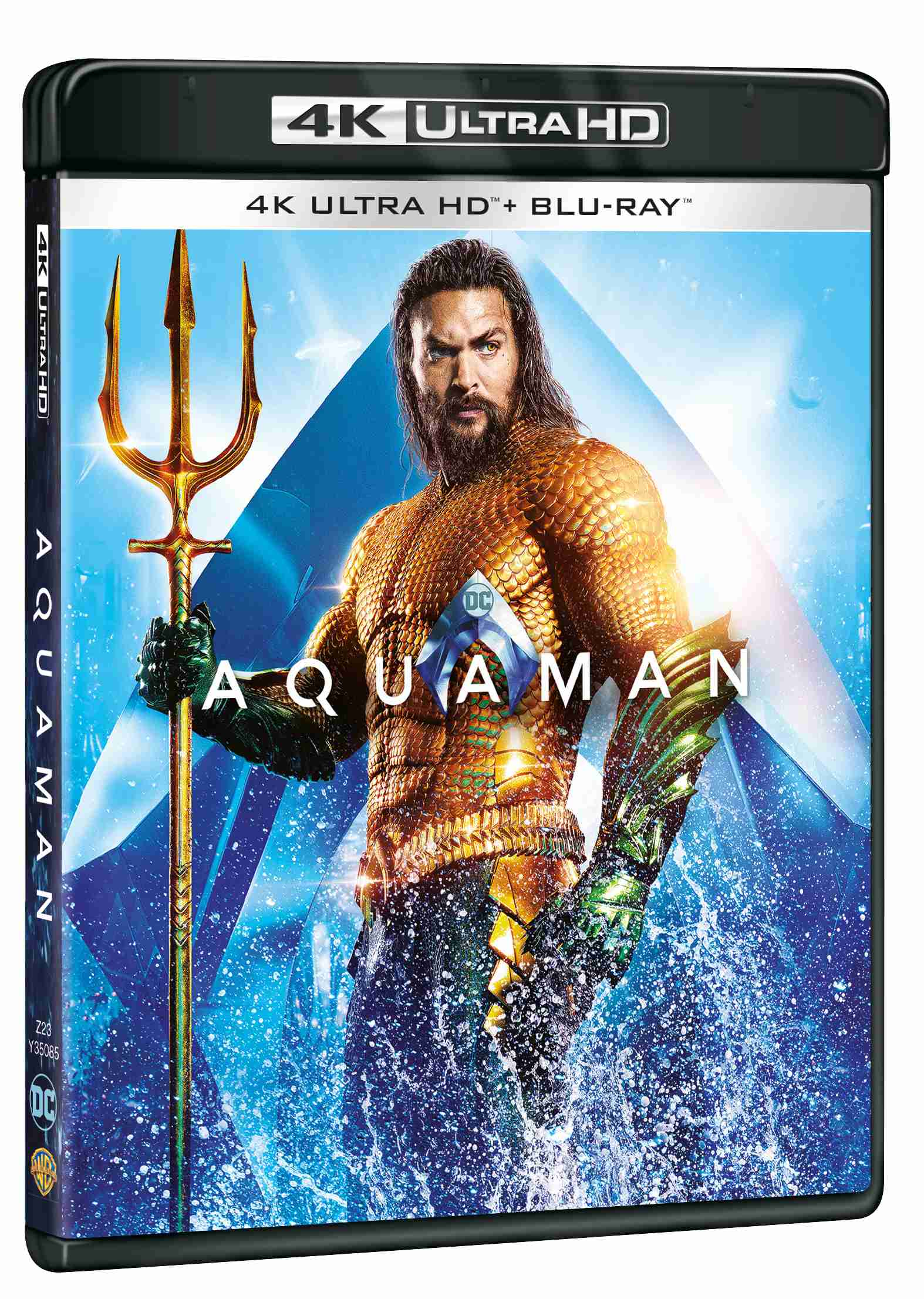 Aquaman (4K Ultra HD) - UHD Blu-ray + Blu-ray (2 BD)