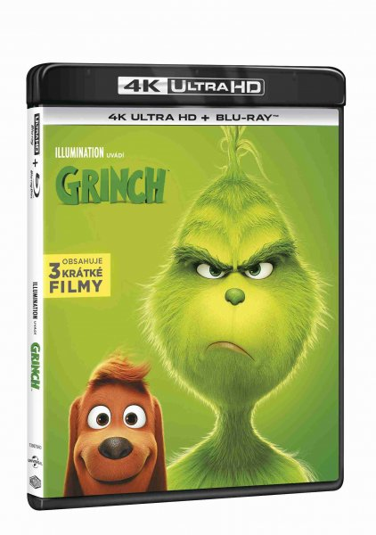 detail Grinch 2018 (animovaný) (4K ULTRA HD) - UHD Blu-ray + Blu-ray (2 BD)