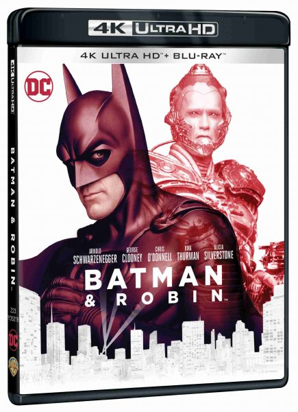 detail Batman a Robin (4K Ultra HD) - UHD Blu-ray + Blu-ray (2 BD)