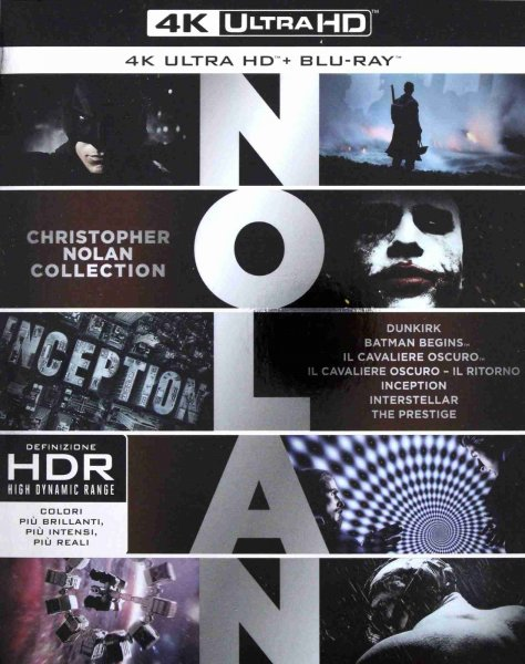 detail Christopher Nolan Collection (4K Ultra HD) - 7 UHD Blu-ray