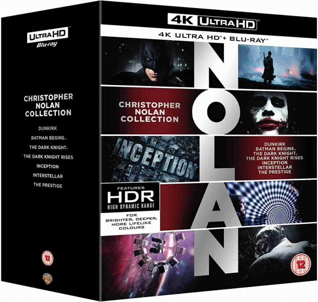 detail Christopher Nolan Collection (4K Ultra HD) - UHD Blu-ray + Blu-ray (21 BD)
