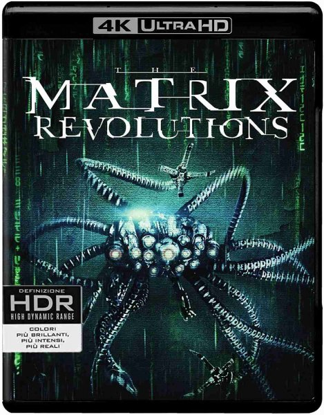 detail Matrix Revolutions - 4K UHD Blu-ray