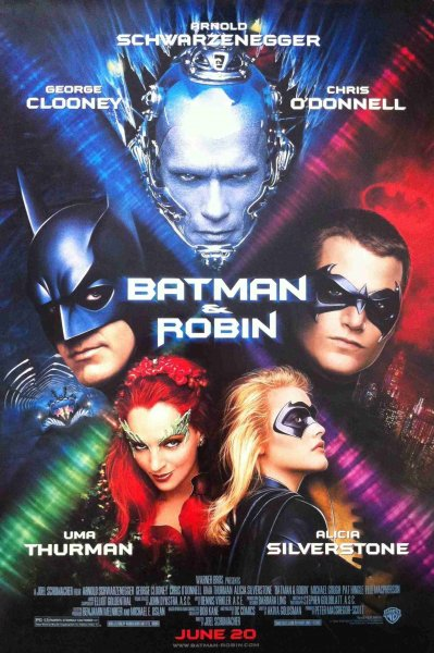 detail Batman a Robin - Blu-ray