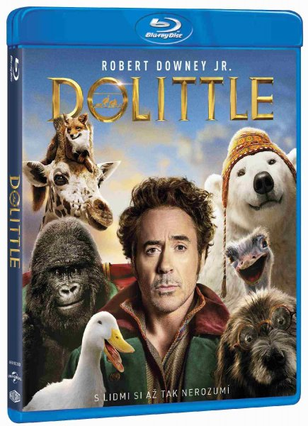 detail Dolittle - Blu-ray