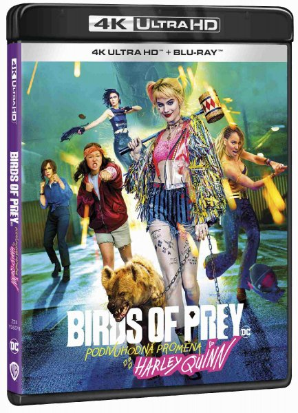 detail Birds of Prey (Podivuhodná proměna Harley Quinn) 4K Ultra HD - UHD Blu-ray + BD