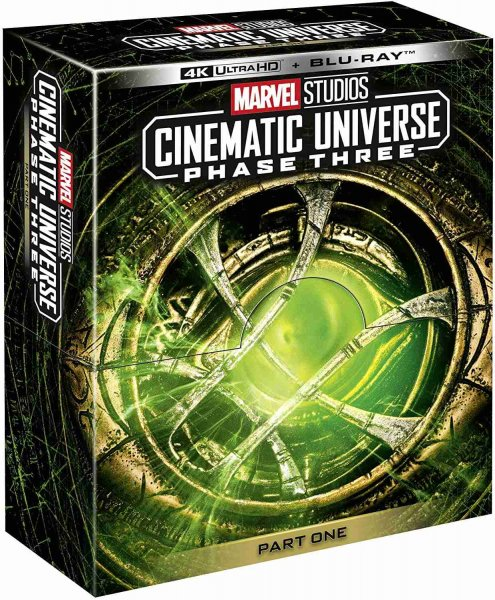 detail Marvel Studios Cinematic Universe: Phase 3 (Part 1) 4K UHD + Blu-ray (bez CZ)