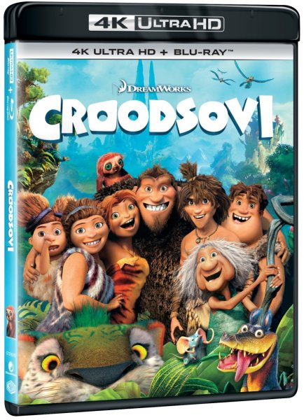detail Croodsovi (4K Ultra HD) - UHD Blu-ray + Blu-ray (2 BD)