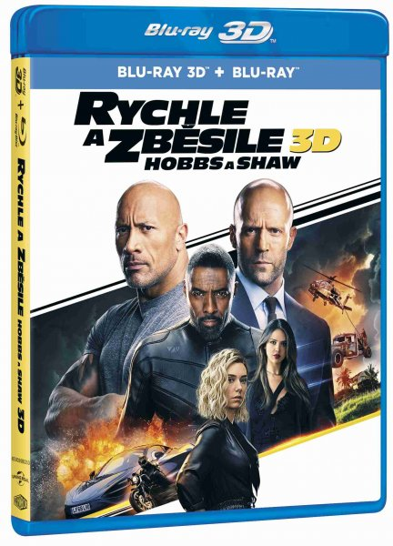 detail Rychle a zběsile: Hobbs a Shaw - Blu-ray 3D + 2D (2BD)