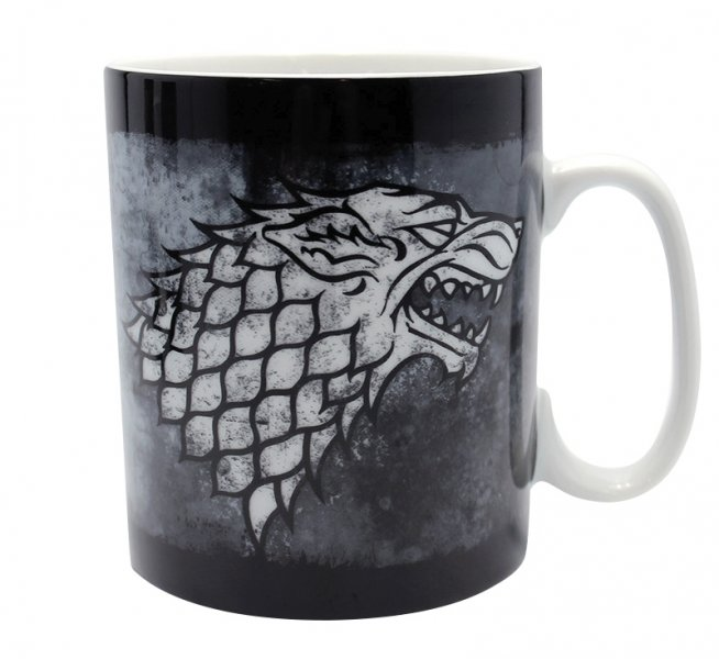 detail Hrnek Game of Thrones - Stark 460ml