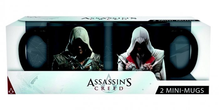 detail Hrnečky Assassin's Creed 110ml - Ezio & Edward