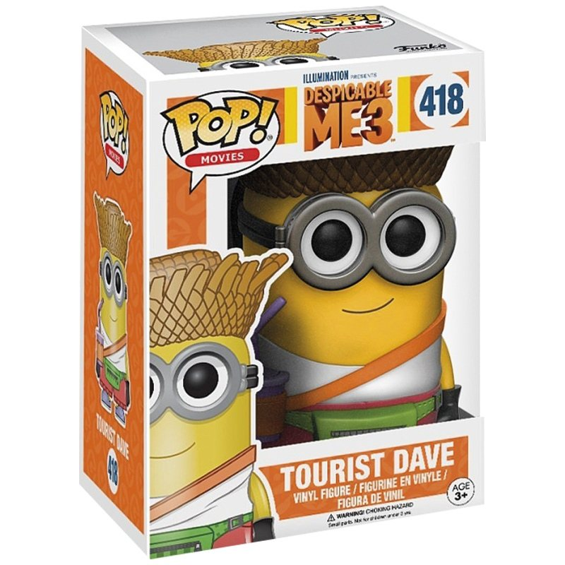 Figurka Funko POP! Despicable me 3 - Tourist Dave (418)