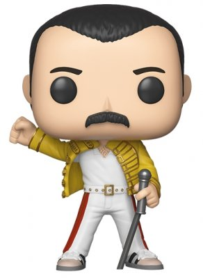 Funko POP! Queen - Freddie Mercury (Wembley 1986)