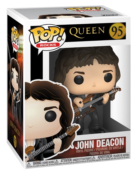 detail Funko POP! Queen - John Deacon