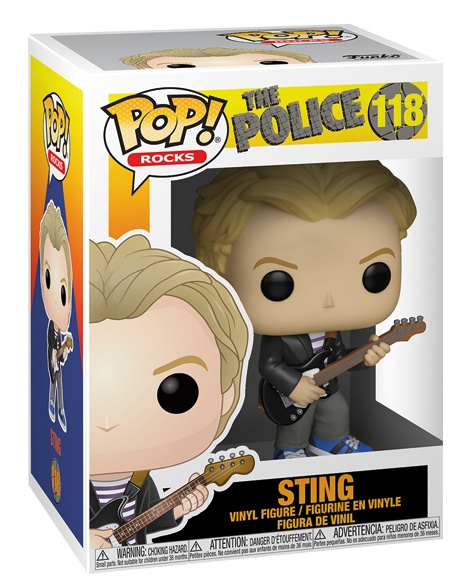 detail Funko POP! The Police - Sting