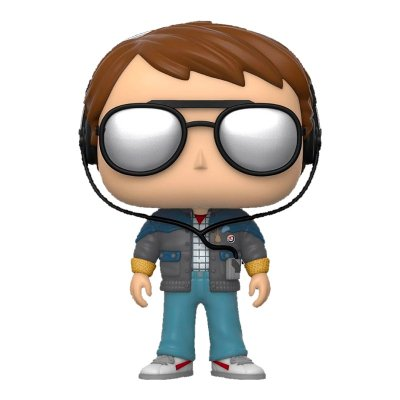 Funko POP! Movie: BTTF - Marty w/glasses (Back to the Future)